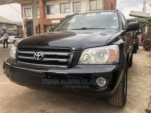 Toyota Highlander 2004 Black   Cars for sale in Lagos State, Ogba
