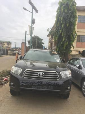 Toyota Highlander 2009 Limited 4x4 Black   Cars for sale in Lagos State, Mushin
