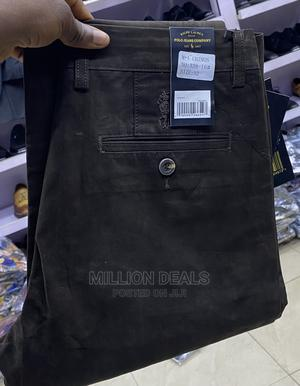 Luxury Black Men'S Chinos Trouser | Clothing for sale in Lagos State, Ikorodu