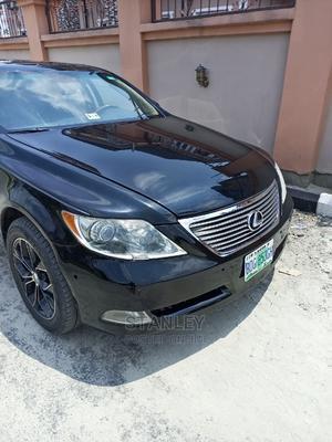 Lexus LS 2008 460 Black | Cars for sale in Delta State, Warri