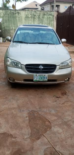 Nissan Maxima 2000 QX Automatic Gold   Cars for sale in Lagos State, Ogba