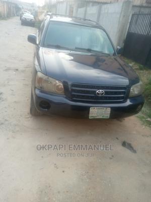 Toyota Highlander 2003 Limited V6 AWD Blue | Cars for sale in Rivers State, Obio-Akpor