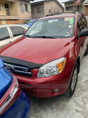 Toyota RAV4 2007 Limited V6 4x4 Red | Cars for sale in Lagos State, Surulere