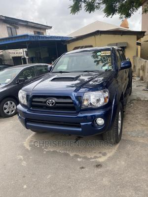 Toyota Tacoma 2008 4x4 Double Cab Blue   Cars for sale in Lagos State, Surulere