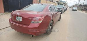 Honda Accord 2009 EX V6 Automatic Red   Cars for sale in Lagos State, Isolo