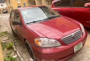 Toyota Corolla 2003 Red | Cars for sale in Lagos State, Lekki