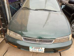 Honda Accord 1999 EX Green   Cars for sale in Lagos State, Surulere