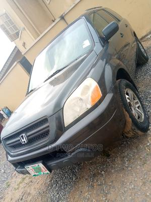 Honda Pilot 2005 EX 4x4 (3.5L 6cyl 5A) Gray   Cars for sale in Lagos State, Agege