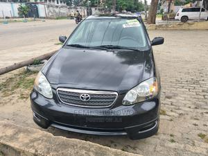 Toyota Corolla 2007 Black   Cars for sale in Lagos State, Surulere