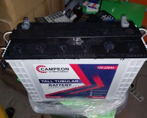 Campeon: 220ahs 12v Tall Tubular Battery. | Solar Energy for sale in Lagos State, Ojo
