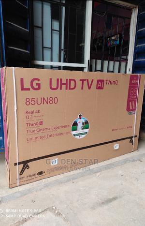 """Arrival 2021 TV LG 85""""Inch Smart Android Uhd 4K Version Wifi   TV & DVD Equipment for sale in Lagos State, Apapa"""