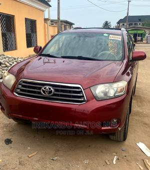 Toyota Highlander 2009 Sport 4x4 Red | Cars for sale in Lagos State, Alimosho