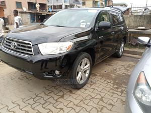 Toyota Highlander 2008 4x4 Black | Cars for sale in Lagos State, Ilupeju