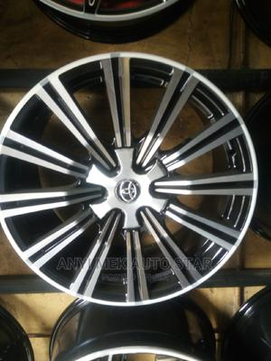 Latest Alloy Rim 20 for Lx 570 Lexus | Vehicle Parts & Accessories for sale in Lagos State, Mushin
