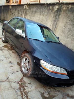 Honda Accord 2001 Coupe Black   Cars for sale in Lagos State, Ifako-Ijaiye