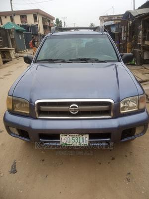 Nissan Pathfinder 2003 LE RWD SUV (3.5L 6cyl 4A) Blue   Cars for sale in Lagos State, Ikeja