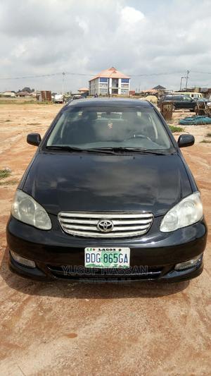 Toyota Corolla 2003 Sedan Black | Cars for sale in Lagos State, Ojota