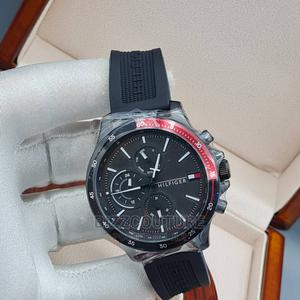 High Quality TOMMY HILFIGER Rubber Watch Available for Sale   Watches for sale in Lagos State, Magodo