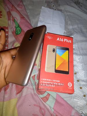 Itel A16 Plus 8 GB Gold | Mobile Phones for sale in Kwara State, Ilorin West
