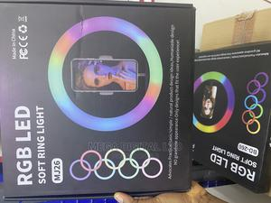 """10"""" RGB LED Ring Light 