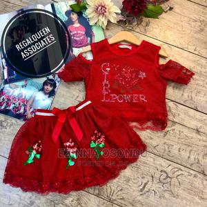 Red Top and Skirt for Girls   Children's Clothing for sale in Imo State, Owerri