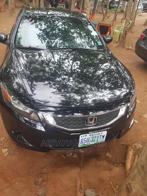 Honda Accord 2008 Black | Cars for sale in Abuja (FCT) State, Gaduwa
