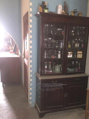 Solid Glass Wooden Cabinet for Sale | Furniture for sale in Lagos State, Maryland
