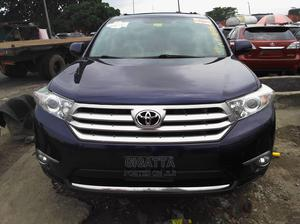 Toyota Highlander 2013 Limited 3.5l 4WD Blue   Cars for sale in Lagos State, Apapa