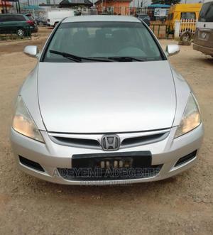 Honda Accord 2006 Sedan EX Silver | Cars for sale in Lagos State, Alimosho