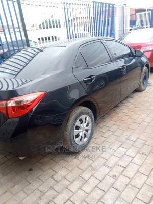Toyota Corolla 2017 Black   Cars for sale in Lagos State, Surulere