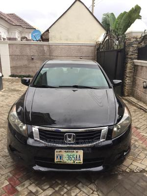 Honda Accord 2008 3.5 EX Automatic Black | Cars for sale in Abuja (FCT) State, Central Business Dis