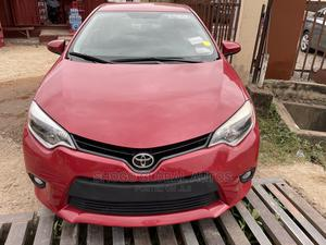 Toyota Corolla 2015 Red   Cars for sale in Lagos State, Magodo