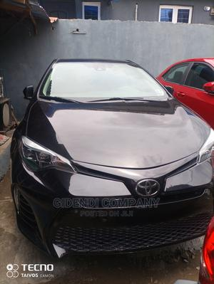 Toyota Corolla 2017 Black   Cars for sale in Lagos State, Ikeja