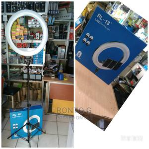 """Portable Led Soft Ring Light,RL-18""""   Photo & Video Cameras for sale in Abuja (FCT) State, Wuse 2"""