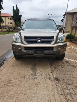 Honda Pilot 2003 EX-L 4x4 (3.5L 6cyl 5A) Gold | Cars for sale in Abuja (FCT) State, Garki 2