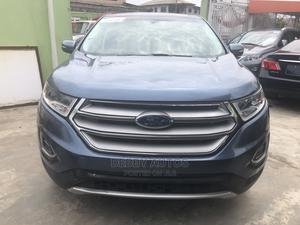 Ford Edge 2018 Titanium AWD Blue   Cars for sale in Lagos State, Agege