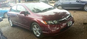 Honda Civic 2007 Red | Cars for sale in Abuja (FCT) State, Gwarinpa