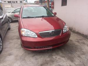 Toyota Corolla 2006 LE Red | Cars for sale in Lagos State, Ikeja