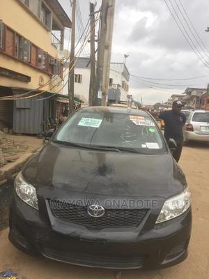 Toyota Corolla 2009 Black | Cars for sale in Lagos State, Mushin