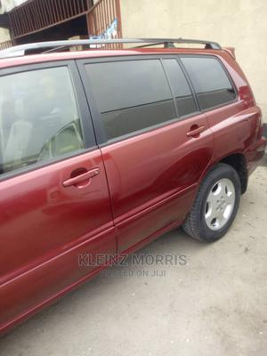 Toyota Highlander 2005 Red | Cars for sale in Rivers State, Port-Harcourt