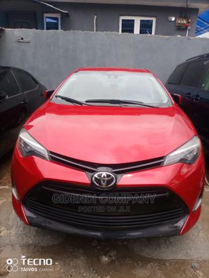 Toyota Corolla 2017 Red   Cars for sale in Lagos State, Ikeja