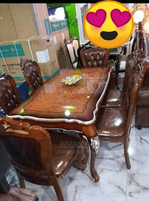 Interior Design Wooden Dinning Table and Chairs   Furniture for sale in Lagos State, Maryland