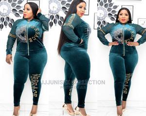 Turkey Velvet Track Suit for Ladies/Women | Clothing for sale in Lagos State, Lagos Island (Eko)