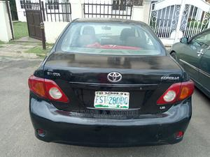 Toyota Corolla 2008 Black   Cars for sale in Abuja (FCT) State, Wuse