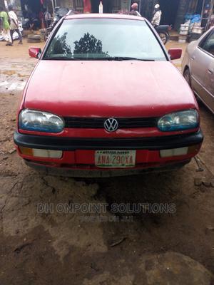 Volkswagen Golf 1997 1.8 Red | Cars for sale in Kaduna State, Kaduna / Kaduna State