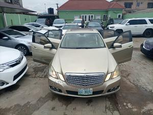 Mercedes-Benz E350 2010 Gold | Cars for sale in Lagos State, Ifako-Ijaiye