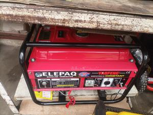 Elepaq 3.5kva/2.8kw,Manual Generator Constant 100%Copper   Electrical Equipment for sale in Lagos State, Ikeja