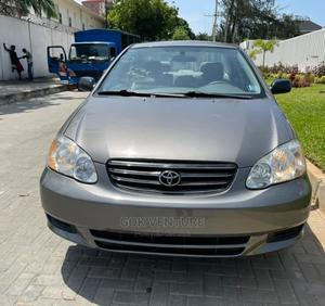 Toyota Corolla 2002 Sedan Gray | Cars for sale in Katsina State, Jibia