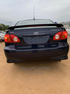 Toyota Corolla 2004 S Blue   Cars for sale in Ogun State, Abeokuta South