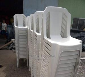 Strong Plastic Chair.   Furniture for sale in Lagos State, Shomolu